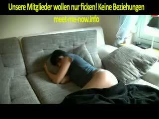 barna, blowjob, német