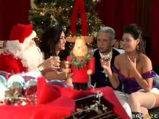 A Smut Xmas In Brazzers Position