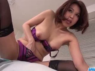 Extreme porn moments for slutty Erika Nishino