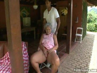 seks in de buitenlucht, masturberen, oud