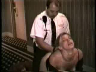 Vaimo perseestä mukaan hotellin turvallisuus guard video-