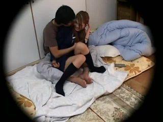 Spycam: Young Schoolgirl seduced 2