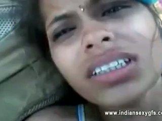 Orissa індійська подруга трахкав по boyfriend в ліс з audio
