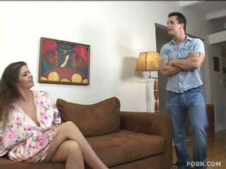 Bystiga step-mom knull henne son