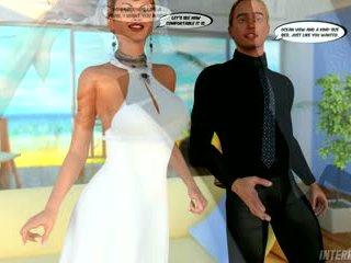 Hawaiian honeymoon cuckold gangbang