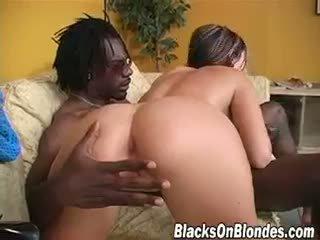 blowjob, babe, interracial