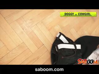Abbie cat gets তার পাছা rammed এ saboom