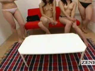 Subtitled pov japonais fac dortoir harem teasing