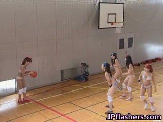 Basketbal speler meisje neuken