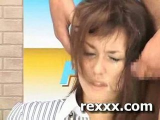 Notícia reporter gets bukakke durante dela trabalho (maria ozawa bu