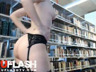 webcam, girl, flashing