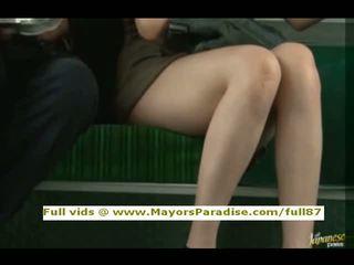 Rio innocent 中国の 女の子 ある ファック 上の ザ· バス