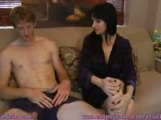 NastyPlace.org - Mom Relieves Sons Morning Wood