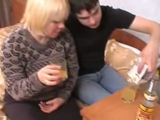 Russian MILF and guy - 4