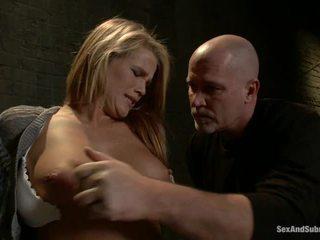 Immature blond aiden aspen has humiliated