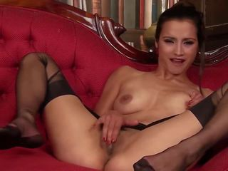Dusky Beauty: Free Stockings HD Porn Video 8b