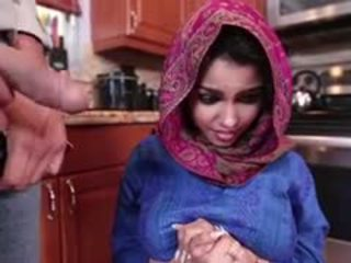 Ada a חרמן arab נוער gets מזוין ו - filled עם זרע