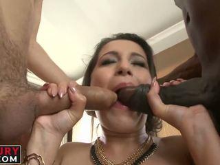 Cindy loarn getting un duro interracial gaping assfuck