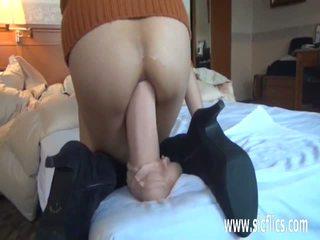 sex toys, gaping, anal