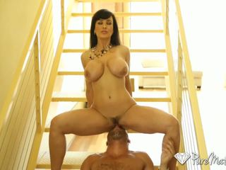 Puremature - גדול breasted קוגר lisa ann fucks a younger זין