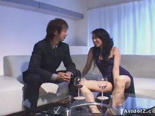 Chris ozawa bangs a ร้อน ญี่ปุ่น ผู้หญิงสำส่อน