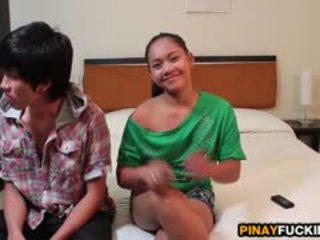 Filipina ahateur sophia blows و gets pumped