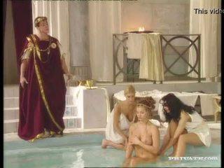 Čierne widow katalin a rita faltoyano bathe spolu pred a tvárové