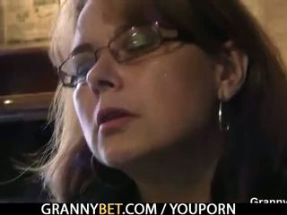 Old Granny Is Picked Up in the Bar and Screwed