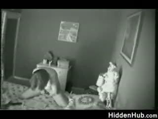 母亲 抓 自慰 由 一 隐 camera