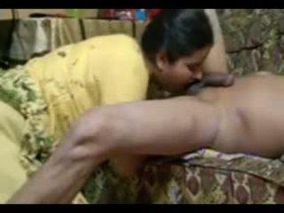 Reale indiano coppia cazzo intensely a casa con sborrata