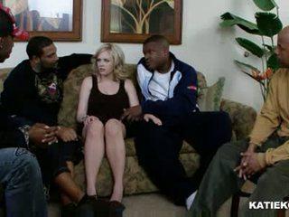 Katie kox antar ras seks dengan banyak pria