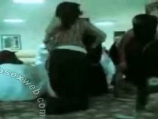 Arab hijab kåt gruppe dance