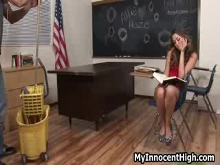 Chick girl Allie Haze seduces
