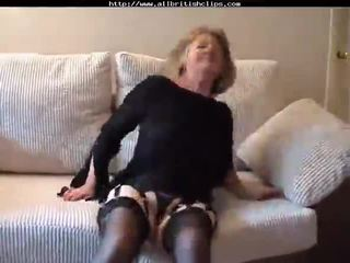 Adorable British Granny Gets Fucked am...