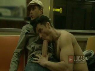 blowjobs, กระเจี๊ยวใหญ่เกย์ในช่องปาก, guy big dick gay