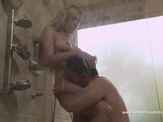 blondiner, duschar, kändisar