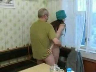 russisch, smalltits, oldman