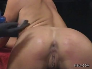 Julie Knight Engulf Sex Toy While Getting Finger