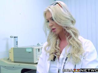 оральний, блондинки, лікар
