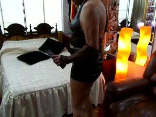 crossdresser, anal, éjaculation
