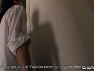 Cute Alice Mizuno Gets Caught By Her Step-brother While
