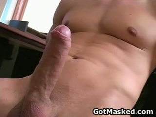 Hunky Homosexual Guy Stripping And Jerking His 10 Pounder 26 By Gotmasked