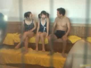 japonski, voyeur, eksotična