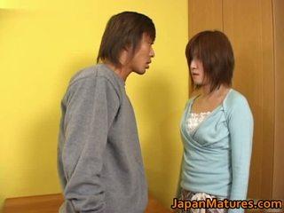 Kaori nanba nhật bản trưởng thành bé gets