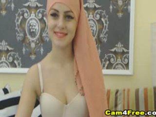 ของฉัน สวย muslim เพื่อนบ้าน strokes เธอ ของเล่น