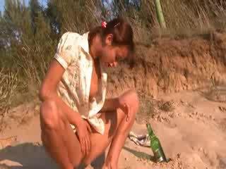 Manis natasha maly mudo on the pantai