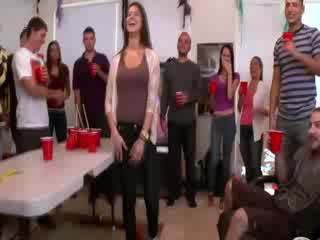 Alexis Fawx helps amateurs get slut on at college party