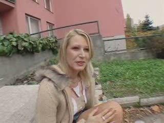 A Czech Public girl temptation