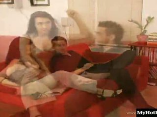 Tara Tainton is a lovely redhead, who'll give her man a blowjob, before