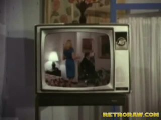 Retro televizor spectacol trio